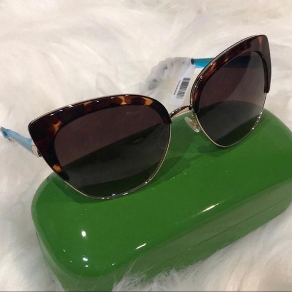 76c0b145fa0 Kate Spade Sunglasses Abinaya NWT Gold   Tortoise